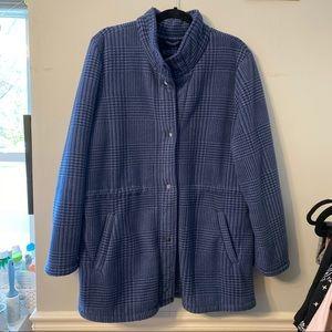 💙Vintage Plaid Fleece Jacket